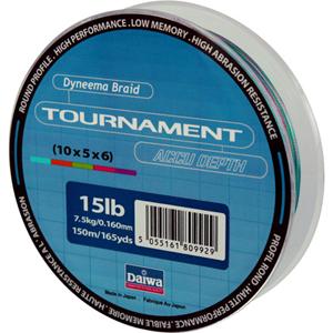 Леска Daiwa Tournament Accudepth 150-15 (12769)Плетеные шнуры<br>Леска плетеная Daiwa Tournament Accudepth - разноцветная леска, позволяет вам точно измерить глубину и длину.<br>