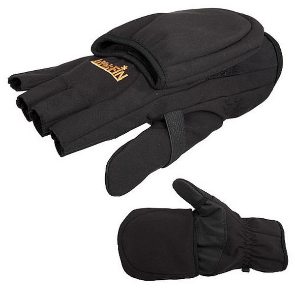Перчатки-варежки Norfin Soft Shell р.L (81221)Варежки/Перчатки<br>Хорошо продуманная и аккуратная модель перчаток. Обеспечивает надежную защиту от ветра, холода и снега.<br>