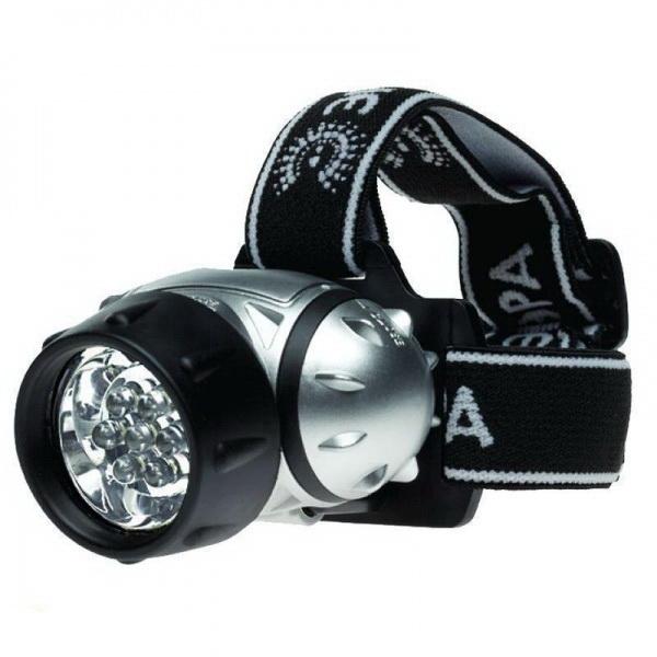 Фонарь Эра G7 Налобный 7xLED, 3хААА, блФонари налобные<br>Светодиодный налобный фонарь. Световой поток осуществляется за счет 23 белых светодиодов.<br>