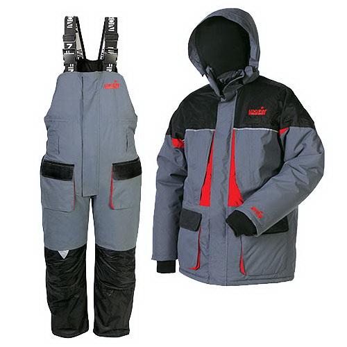 Костюм зимний Norfin ARCTIC REDКостюмы/комбинзоны<br>Удобный и тёплый костюм для любителей зимней рыбалки.<br>