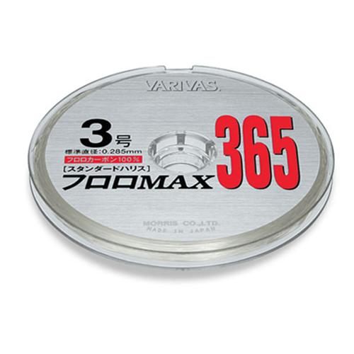 Леска Varivas FLUORO MAX365 #1.7 (95300)Поводковый материал<br>Прочная флюорокарбоновая леска от известного бренда Varivas. Одинаково хороша как основная на безынерционных или мультипликаторных катушках, так и в качестве поводка<br>