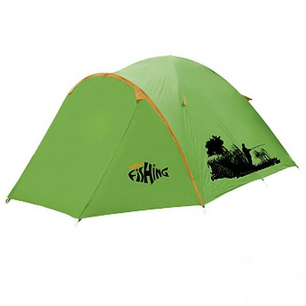 Палатка Holiday 3-х мест. Fishing Bass 3Палатки<br>Универсальная палатка купольного типа. Имеет один вход. Установка производится с помощью внутренних дуг.<br>