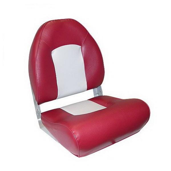 Кресло Мореман с боковой поддержкой, серый/темно-красный (EE-86115_Grey/Burcundy) (65065)Сиденья<br>Удобное мягкое кресло с боковой поддержкой сидений. Кресло имеет обивку из винила, которая придает дополнительное удобство и комфорт при сидении.<br>