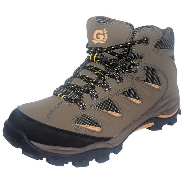 Ботинки NovaTour трекинговые Рейд Темно-коричневыйБотинки<br>Ботинки для туризма из натуральной кожи, снабжены мембранным носком, защитой мыса и пятки<br>