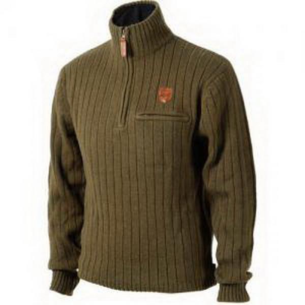 Свитер JahtiJakt Pro Sweater, тёмно-коричневый. р-р LСвитеры и толстовки<br>Высококачественный и практичный свитер премиум класса. Использование натуральных и синтетических материалов при изготовлении этой модели, гарантирует высокую устойчивость к износу.<br>