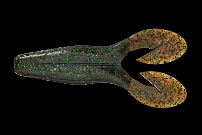 Мягкая приманка Jackall Xeno Buzz 4 PUMPKIN/GR FLAKE (87491)Мягкие приманки<br><br>