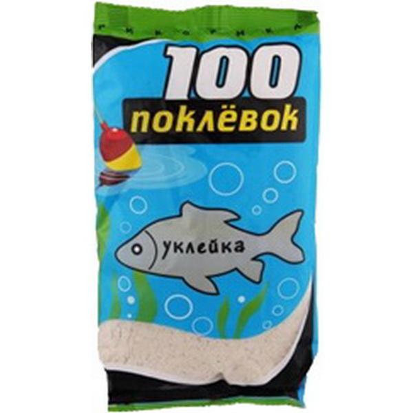 Прикормка 100 Поклевок Рыболов Уклейка 900 гр.