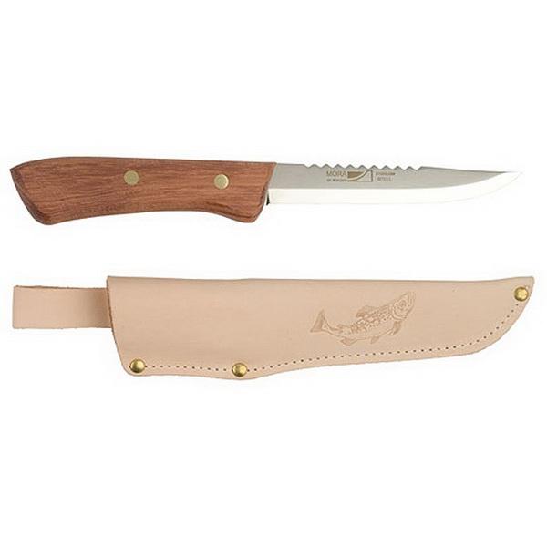 Нож Mora рыболов. в кож. ножнах Kniv Fishing Classic 54 блистер