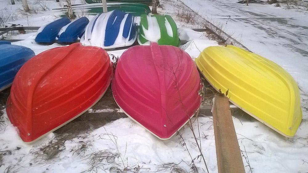 металлическая лодка или пвх