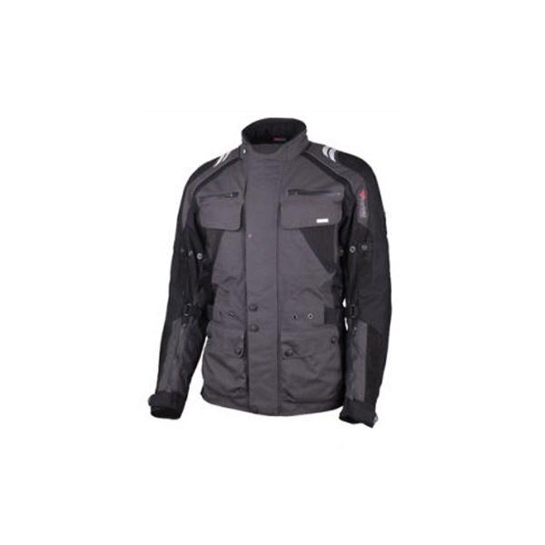 Куртка Modeka Finn, Black/Grey, 3XLКуртки<br>Современная куртка со съемной подстежкой. Вентиляция обеспечивается при помощи специальной системы Airvent-System.<br>