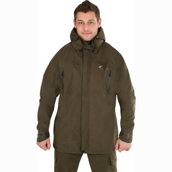 Куртка NovaTour рыболовная Коаст S, Хаки (78357)