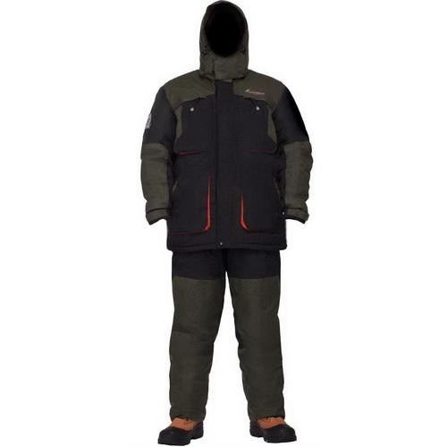 Костюм NovaTour Драйв S черный (69505)Костюмы/комбинзоны<br>Зимний костюм для рыбалки и активных видов спорта с двойной молнией и герметичными карманами.<br>