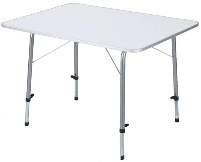 Складной стол TREK PLANET с телескопическими ножками White TA-561Столы складные<br>Складной стол TREK PLANET с телескопическими ножками предназначен для отдыха на природе, дачи. Каждая ножка индивидуально регулируется. Можно ровно поставить стол на любой поверхности. Столешница из огнеупорного пластика. Плоско складывается. Не занимает ...<br>