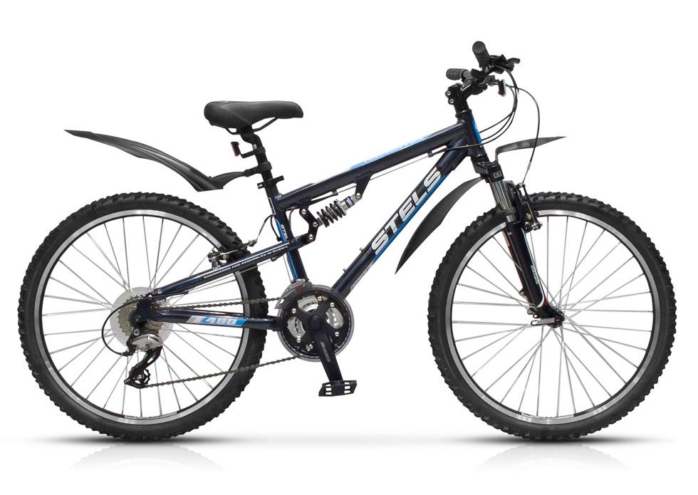 Велосипед Stels Navigator-490 V 24.13Велосипеды Stels<br>Двухподвесный велосипед Stels navigator 490 для подростков, не уступающий взрослому велосипеду, так как собран на основе высокопрочной алюминиевой рамы, имеет амортизационную вилку SR Suntour SF9-XCT JR и навесное оборудование любительского уровня Shimano...<br>