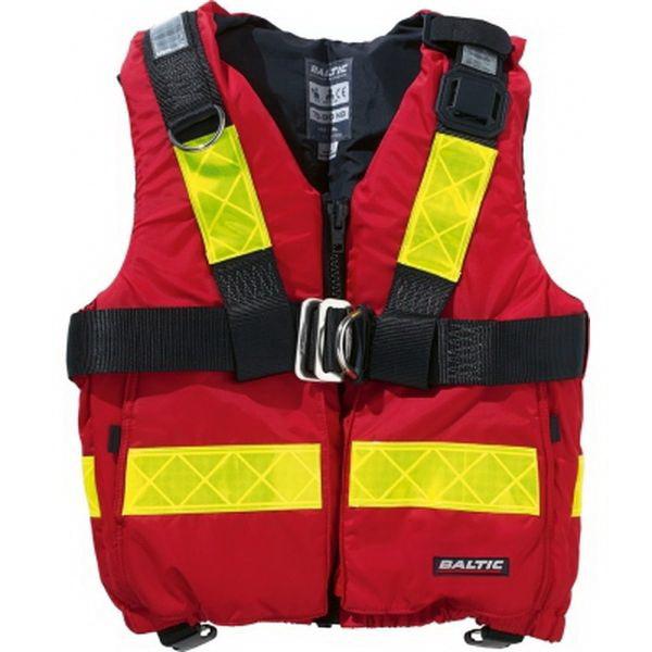 Спасательный жилет Baltic Pilot, (красный, размер L, 70-90 кг)Спасательные жилеты <br>Спасательный жилет из особо прочных, износостойких материалов. Модель прошла испытания в особо агрессивной среде и получила особую функциональность и плавучесть.<br>
