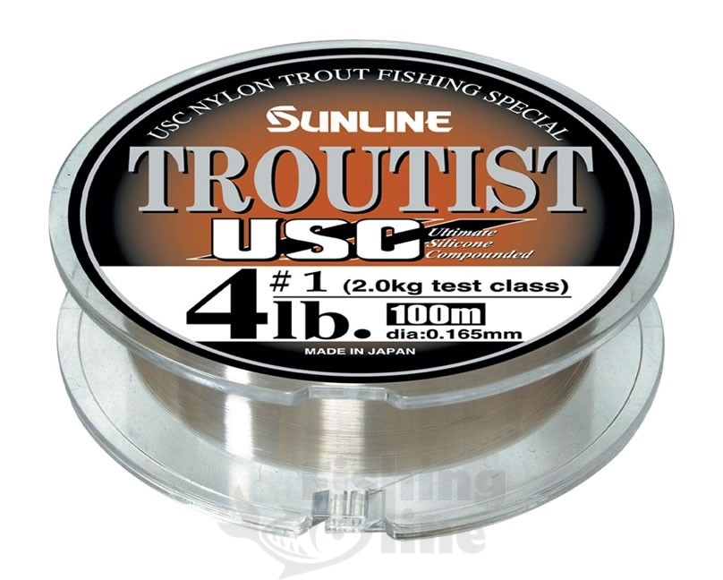 Монолеска Sunline Troutist USC 100m Natural Brown 0.19mm 2.5kg (106643)Монофильные лески<br>Леска высочайшего класса, созданная с использованием последних научных разработок. Леска выпущена в дополнение к одной из лучших форелевых лесок Troutist Wild, от которой отличается новым цветом и материалом.<br>
