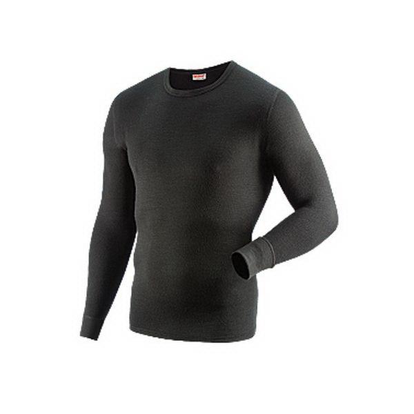 Фуфайка Guahoo 21-0460 S / BK - XL муж., черный (83043)Фуфайки<br>Модель из двухслойного полотна, предназначенная для носки в холодную погоду. Сочетание разных видов пряжи с натуральной шерстью во внешнем слое, а также применение специального плетения, способствуют хорошей сохранности тепла.<br>
