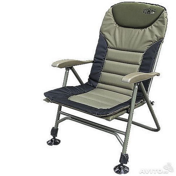 Кресло Norfin карповое Humber NFСтулья, кресла складные<br>Компактное складное кресло с мягким подголовником и прочной конструкцией.<br>