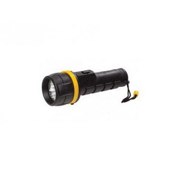 Фонарь Эра R2D 3xLED, 2xD, резина, блФонари ручные<br>Высококачественный светодиодный фонарь с обрезиненным корпусом. Световой поток осуществляется за счет 3 белых светодиодов.<br>