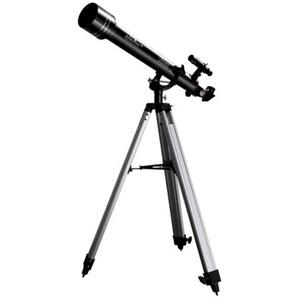 Телескоп JJ-Astro Astroman 60x700Телескопы<br>Классический рефрактор на азимутальной монтировке для начинающих наблюдателей обеспечит отличное наблюдение, поможет разнообразить уроки астрономии и глубже окунуться в тайны космоса. Телескоп поставляется в удобном пластиковом кейсе для переноски.<br>