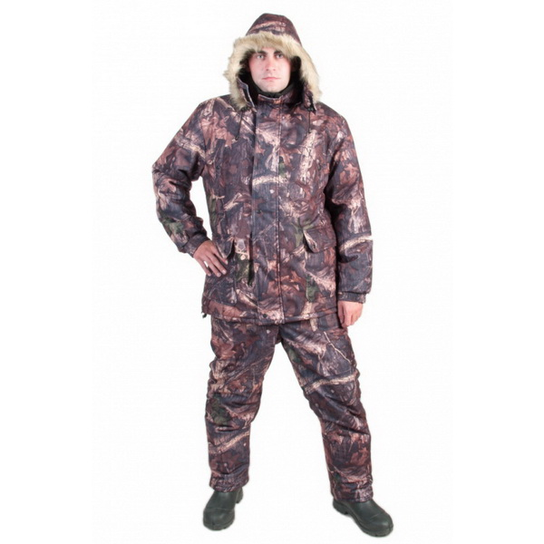 Костюм Алом-Дар зимний Рыбак (мембр. тк.) (темн. лес)Костюмы/комбинзоны<br>Зимний костюм для рыбалки, предназначен для использования в холодное время года, когда температура воздуха достигает от -35<br>