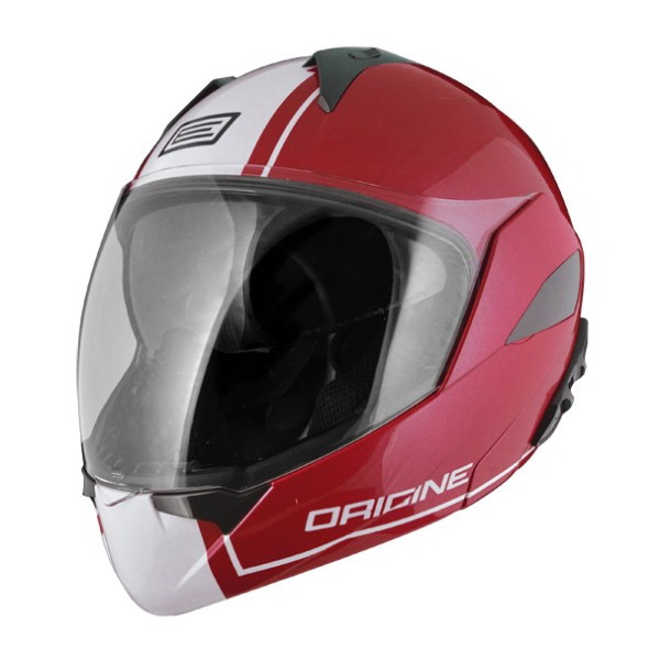 Шлем Origine (модуляр) Solid Riviera Dandy красный/белый глянцевый XL (81646)Шлемы и маски<br>Самый модный и продвинутый шлем в коллекции Origine. Имеет большой визор для хорошей видимости.<br>