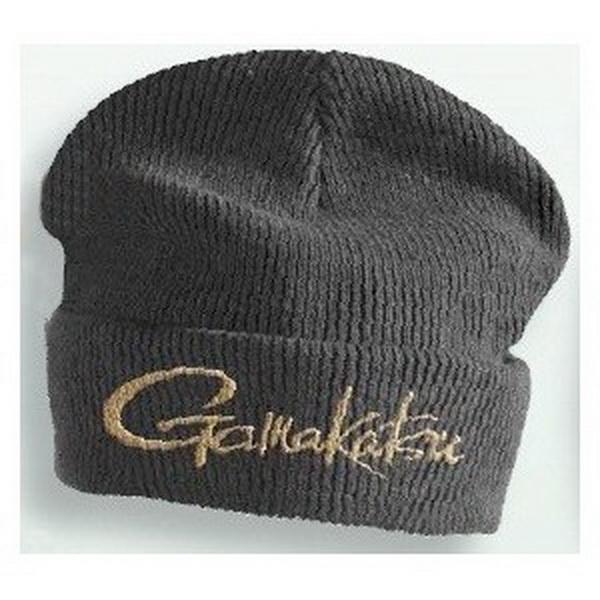 Шапка Gamakatsu вязаная с отворотом Knit Cap