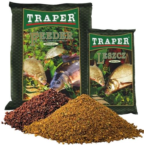 Прикормка Traper Special Feeder (Фидер) 1кг 00032Прикормки<br>Эта светло-жёлтая прикормка идеально сбалансирована для лещовой рыбалки на всевозможных водоёмах. Она обладает неповторимым сладким  запахом, от которого лещи без ума!<br>