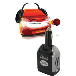 Автомобильный инвертер Adrenalin Power Inverter 75 DirectИнверторы, разветвители прикуривателя<br>Adrenalin Power Inverter 75 Direct – это розетка 220В в Вашем автомобиле! Инвертер предназначен для питания и зарядки различных портативных электронных устройств. Выходной мощности хватит для работы с ноутбуком, видеокамерой, DVD-плеером, вы сможете заряж...<br>