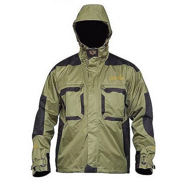 Куртка Norfin Peak Green 04 р.XL (73777)Куртки<br>Летняя защитная куртка с нагрудными карманами на липучках и капюшоном.<br>