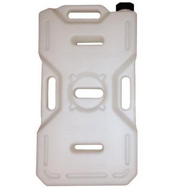 Канистра Экстрим 10л белаяКанистры<br>Экспедиционная пластиковая канистра, предназначенная для транспортировки различных видов топлива, таких как бензин, керосин и дизтопливо. Изготовлена из прочного полимерного материала.<br>