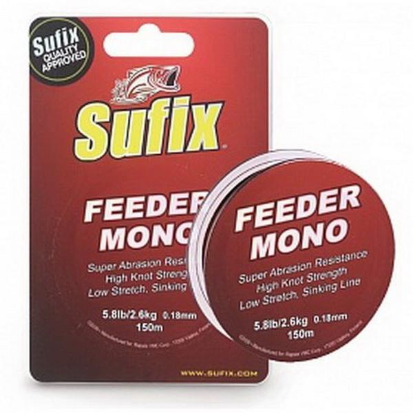 Монолеска Sufix Feeder mono Burgundy 150м