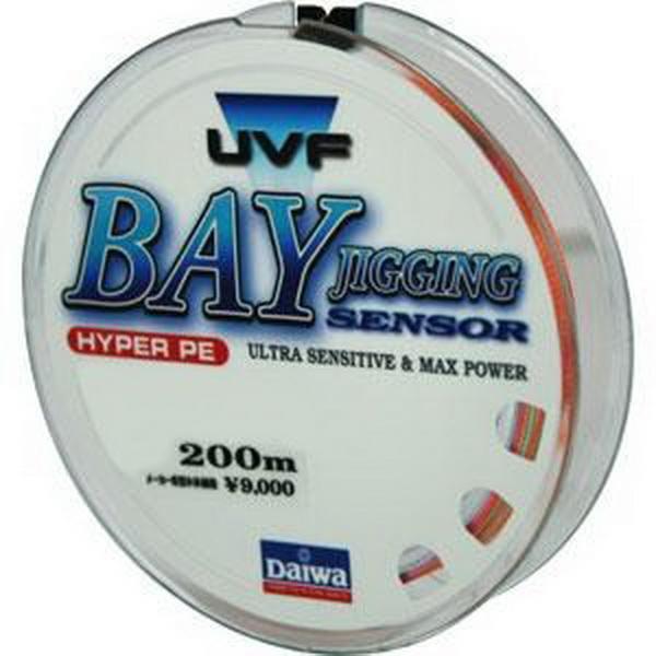 Леска плетеная Daiwa UVF Bay Jigging Sensor + Si #1,5 - 200 (30 LB)