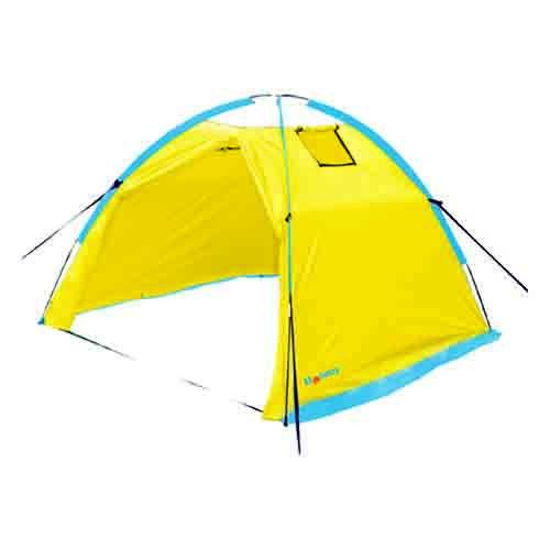 Палатка Holiday рыболовная зимняя ICE 2,5 230х230 жел.Палатки для зимней рыбалки<br>Рыболовная зимняя палатка Holiday незаменима в зимнее время года для любителей подледной рыбалки. Дуговая конструкция позволяет быстро устанавливать палатку и также быстро ее складывать в сумку для хранения и переноски. <br>