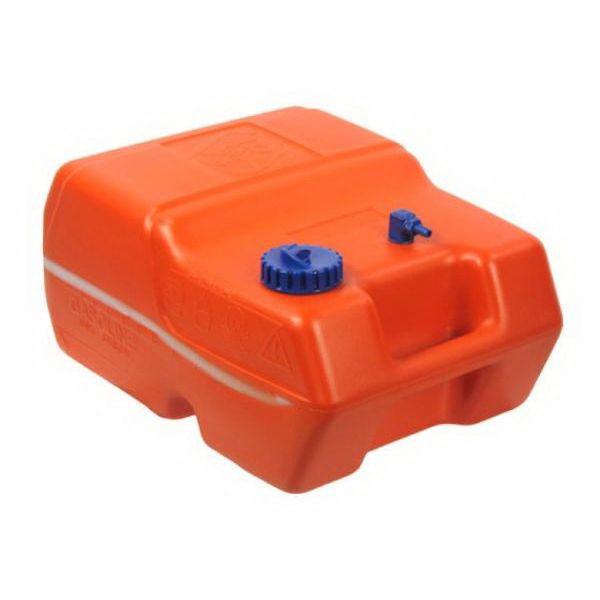 Бак Can топливный портативный, 24 л (SE2011)Бензобаки и канистры для топлива<br>Переносной бак оснащен уровнем топлива, заливной горловиной с вентиляционной пробкой и резьбовой крышкой, патрубком под шланг отбора топлива. Для удобства переноски есть ручка.<br>