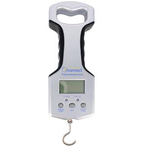 Электронные весы с термометром JJ-Connect Fisherman Champion 25 DeluxeВесы<br>Технические характеристики:<br>- Точность измерений: ±2%;<br>- Единицы измерения: кг/фунт;<br>- Максимальный вес: 25кг;<br>- Возможность сохранения 5 измерений;<br>- Автоматическое отключение;<br>- Встроенный термометр;<br>- Встроенный гигрометр;<br>- Встоенная удобная р...<br>