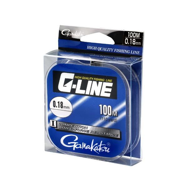Монолеска Gamakatsu G-Line Competition, 100мМонофильные лески<br>Монофильная леска для поплавочной ловли. Монолеску можно использовать как основную или в виде поводочной лески.<br>