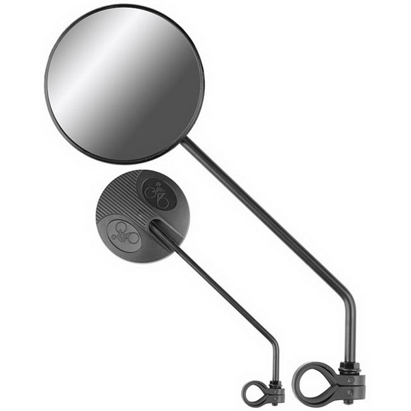 Зеркало Stels заднего вида JY-111 пласт.черн., 220010