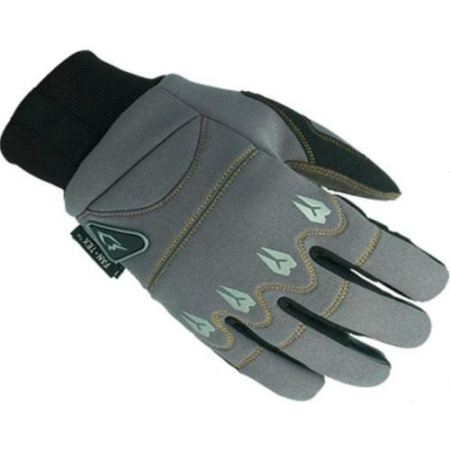 Перчатки UMC ZAM-016, размер L, серые с чернымВарежки/Перчатки<br>Перчатки выполнены из прорезиненной ткани SBR, полиуретанового покрытия и прочной ткани с двухдиагональной структурой плетения волокон. Это позволит вам быть уверенным в надежности и качестве перчаток.<br>
