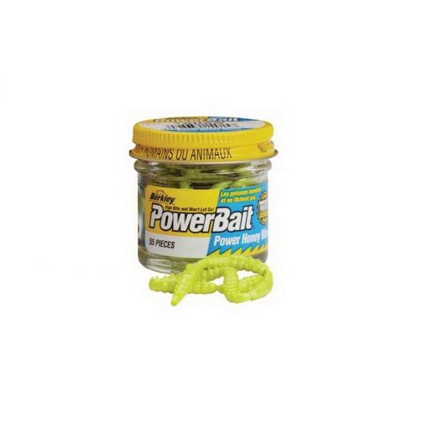 Червь Berkley Powerbait Honey Worms Yellow (73790)
