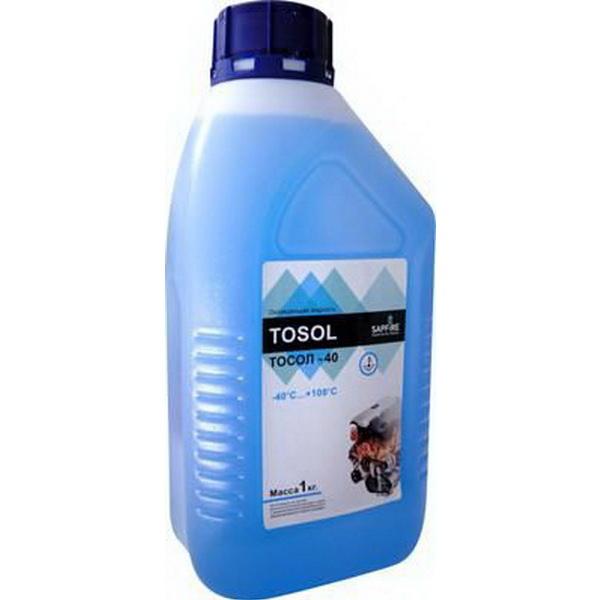 Тосол Sapfire -40C 1 кгМасла и ГСМ<br>Тосол Sapfire изготавливается на основе моноэтиленгликоля высшего сорта с добавлением многокомпонентного сбалансированного пакета присадок. Обеспечивает коррозийную защиту металлов и сплавов, применяемых в двигателях. Нейтрален к резиновым и неопреновым м...<br>