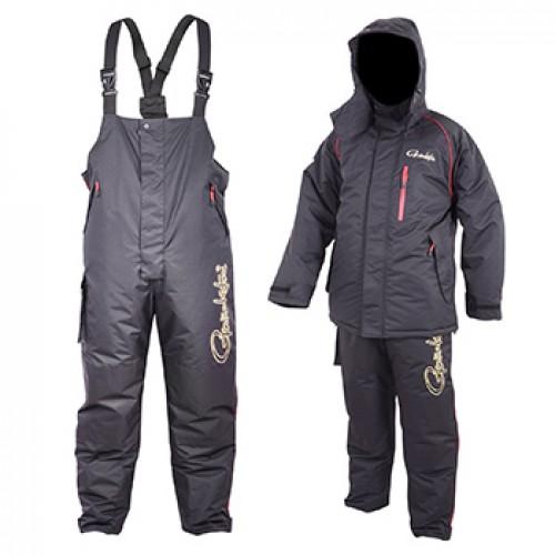 Костюм Gamakatsu Power Thermal Suits Khaki Black 2XL (79508)Костюмы/комбинезоны<br>Теплый ветро и влагозащитный костюм для зимней рыбалки, охоты и активного отдыха. Зимний термокостюм Gamakatsu Power Thermal Suits состоит из куртки и брюк, выполнен из высококачественных мембранных тканей различной плотности, таких как полиэстер, хлопок,...<br>