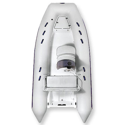 Надувная лодка Grand S370LЛодки надувные RIB<br>S370L (DeLuxe) - надувная лодка оборудованая рулевой стойкой CL-02 с передним сиденьем и двумя отсеками, а также задним двухместным сиденьем с мягкой спинкой , подлокотниками и контейнером с мягкой подушкой.<br>