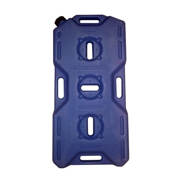 Канистра Экстрим 15л синяяКанистры<br>Экспедиционная пластиковая канистра, предназначенная для транспортировки различных видов топлива, таких как бензин, керосин и дизтопливо. Изготовлена из прочного полимерного материала.<br>