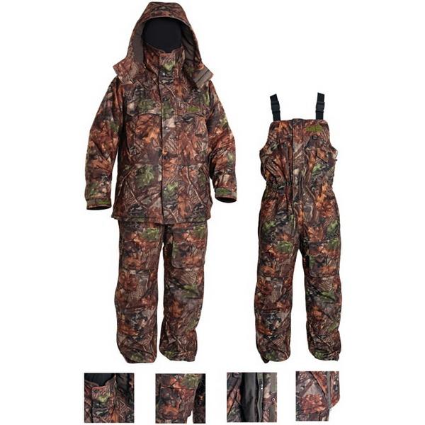 Костюм зимний Norfin Extreme2 06 King р.XXXLКостюмы/комбинезоны<br>Зимний костюм из высококачественного материала NOR-TEX Breathable. Отлично сохраняет тепло внутри.<br>