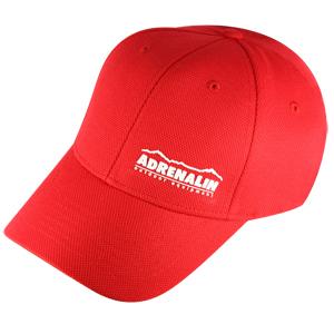 Бейсболка Adrenalin, цвет красный