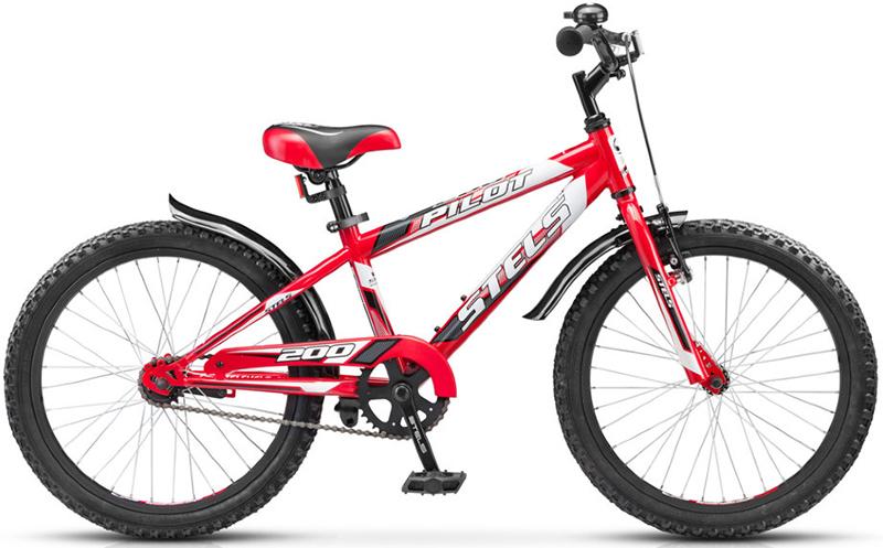 Велосипед Stels Pilot-200 Gent 20.15Велосипеды Stels<br>Детский велосипед с колесами 18. Руль и седение у велосипеда регулируются под рост ребенка, благодаря чему велосипед прослужит не один сезон. Велосипед дополнительно оборудован защитой цепи от внезапного контакта ног ребенка с цепью и звонком. Торможение...<br>