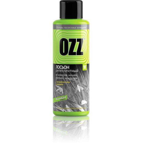 Лосьон Ozz спрей репеллентный Standart от комаров, 100 мл. от Ozz Extra