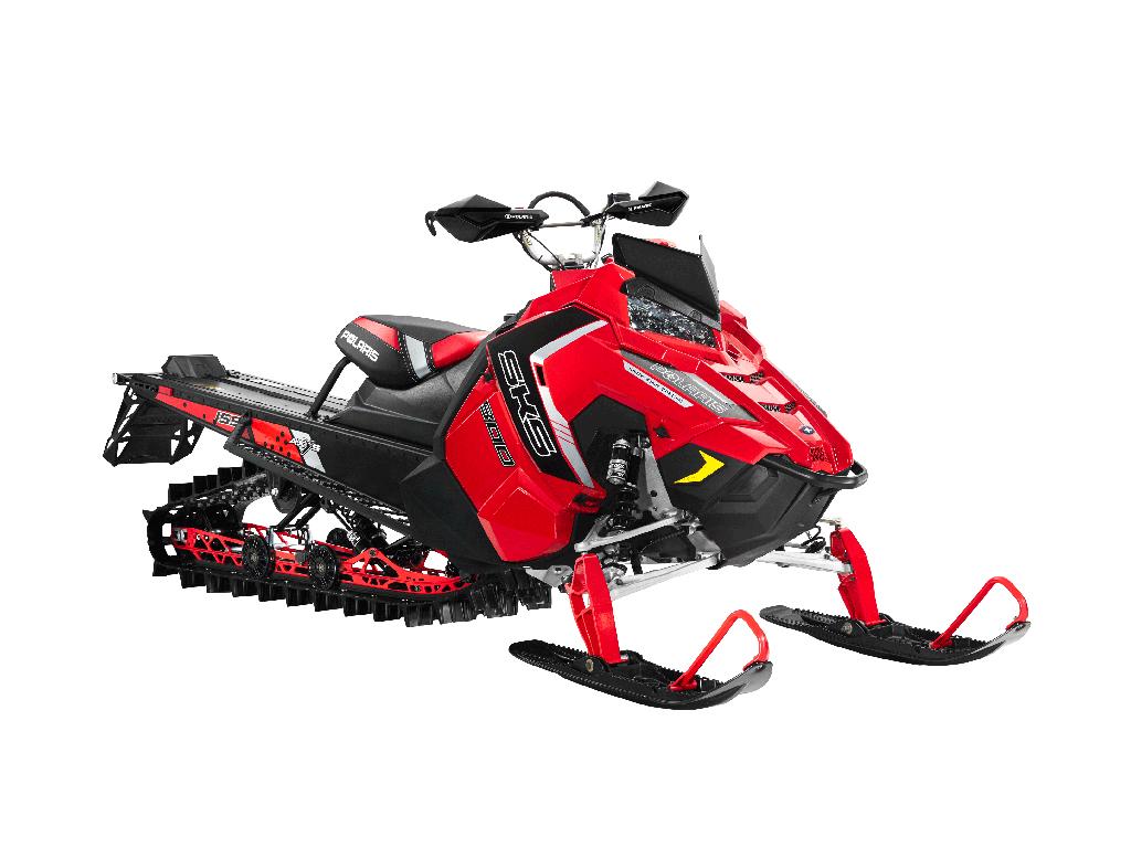 Снегоход Polaris 800 SKS 155 Red / Black / SilverСнегоходы<br><br>