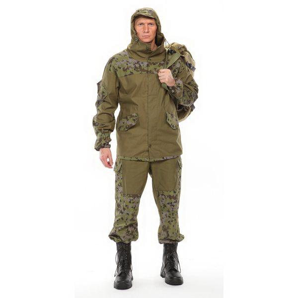 Костюм Урсус мужской Горка 3 палатка хаки 100% х/б, 270г/м2 (52-54, 170-176)Костюмы/комбинезоны<br>Мужской костюм, состоящий из куртки и штанов. Куртка свободного кроя застегивается на центральную молнию и петлю-пуговицу. Брюки затягиваются на талии при помощи резинки.<br>